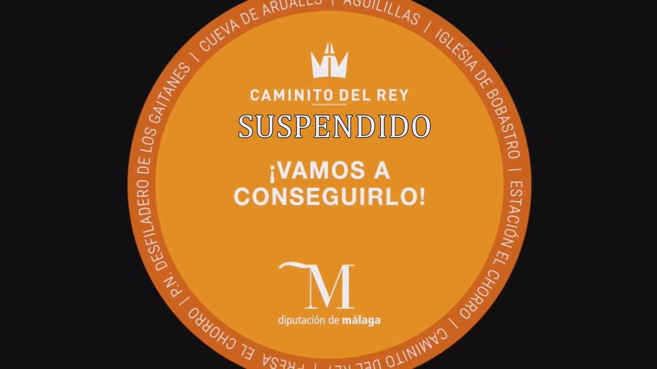 """Suspendida la excursión al """"Caminito de Rey"""""""