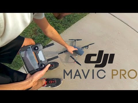 DJI Mavic Pro Unboxing & First Flight // Refurbished // Best Travel Drone // 4k Gimbal Drone