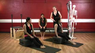 Beg. Legs: Pelvis and Hips by Upside-Down Pilates