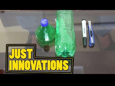 DIY Plant Pots -DIY Recycle Plastic Bottle – Bottle Garden – DIY Home Decor