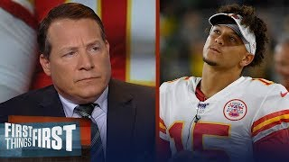 Eric Mangini strongly disagrees Mahomes is a better QB than Tom Brady | NFL | FIRST THINGS FIRST