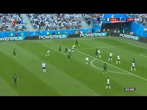 Xem lại trận đấu argentina vs nigeria bình luận tiếng việt ( world cup 2018 )