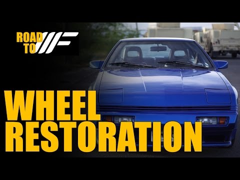 Road To Wekfest: Part 4 - Wheel Restoration