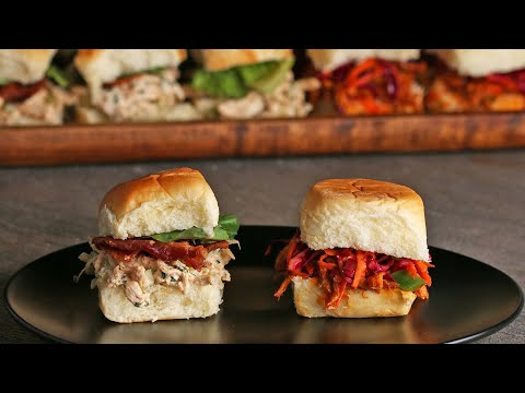Chicken Sliders 2 Ways