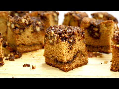 Video Cinnamon Coffee Cake (Passover/Gluten Free) - It's Raining Flour Episode 123