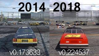 Next Car Game: Wreckfest - Then vs. Now