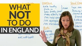 English Culture: Manners & How to be polite