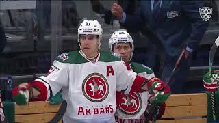 Лучшие силовые приёмы 1-й недели КХЛ 19/20
