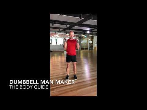 TBG DUMBBELL MAN MAKER