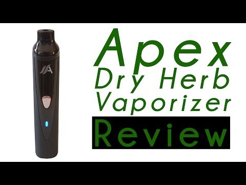 Marijuana Product Review: Apex Portable Personal Dry Herb Vaporizer Pen