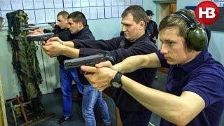 Тренировка новой патрульной службы Киева