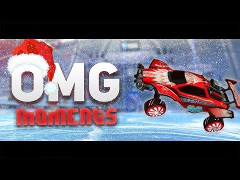 Rocket League OMG Moments (SQUISHY MUFFINZ WAVEDASH INTO GROUND PINCH!) EP.23