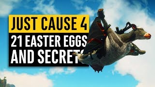 Just Cause 4   21 Secrets and Easter Eggs
