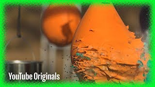 Painting with Bullets in Slow Motion