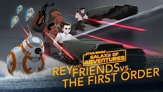 Episode 2.01 Rey and Friends vs. The First Order (VO)