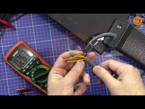 How to get output from XBox 360  Power Adapter as 12V 16A Power supply vid: 247-011