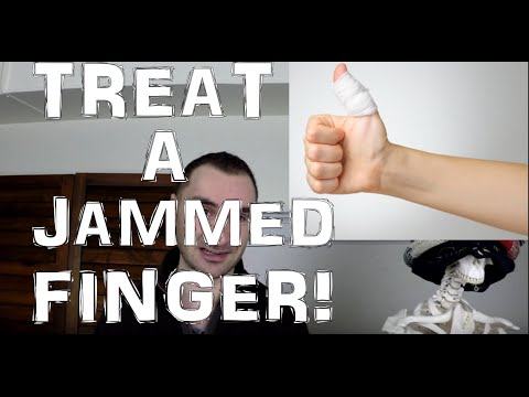 Video Jammed Finger Treatment: What To Do To Heal It!