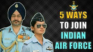 5 Ways To Join Indian Air Force As An Officer In 2019 - भारतीय वायु सेना कैसे ज्वाइन करें? (Hindi)