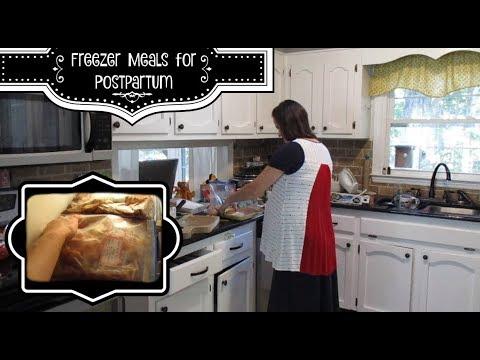 Freezer Meals: Cooking for Postpartum (September 21, 2017 Vlog)