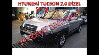 Hyundai tucson 2.0 dizel hidrojen yakıt sistem montajı