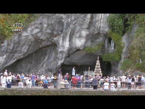 Chapelet du 11 septembre 2020 à Lourdes