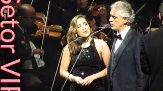 "Setor VIP : : Andrea Bocelli e Anitta cantam ""Canto Della Terra"" em São Paulo (12/10/16)."