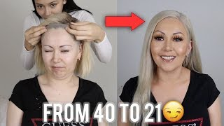 TRANSFORMING MY MOM INTO ME!!