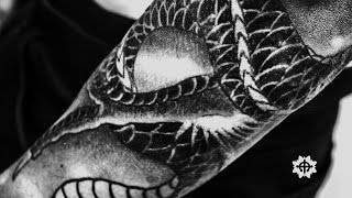 Japanese Dragon Tattoo Sleeve 2 - Scales And Colour