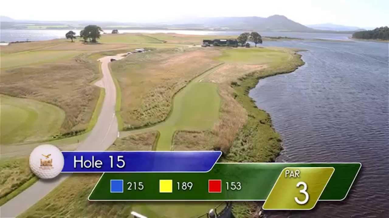 Carnegie Links Hole 15 - YouTube video