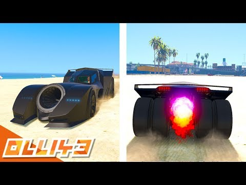 THIS NEW CAR IS INCREDIBLE! (GTA 5 Batmobile DLC)