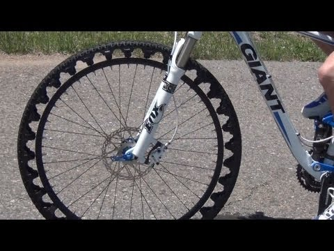 ERW airless bicycle