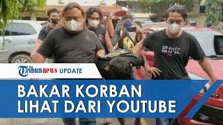 Aksi Pegawai Warung Pecel Begal Ojol di Brebes, Rampas Motor dan Bakar Korban Belajar dari YouTube