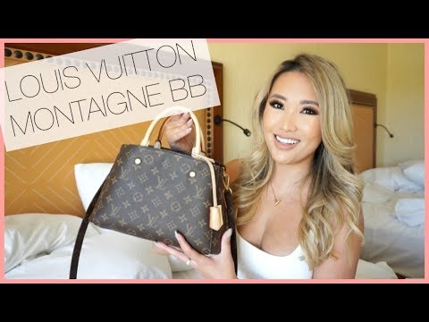 WHAT'S IN MY NEW BAG! LOUIS VUITTON MONTAIGNE BB REVEAL – INITIAL REVIEW | hollyannaeree