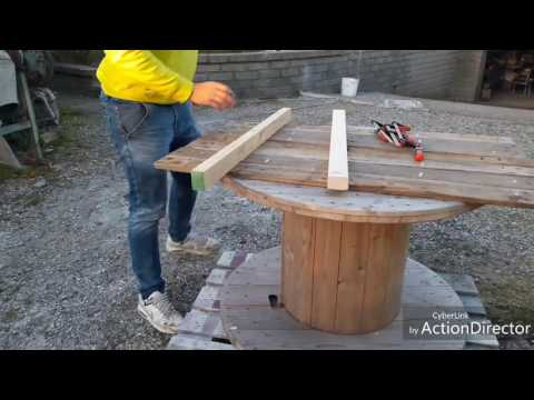 Come costruire un tavolo da esterno#How to make a pallet table Kreg Jig R3