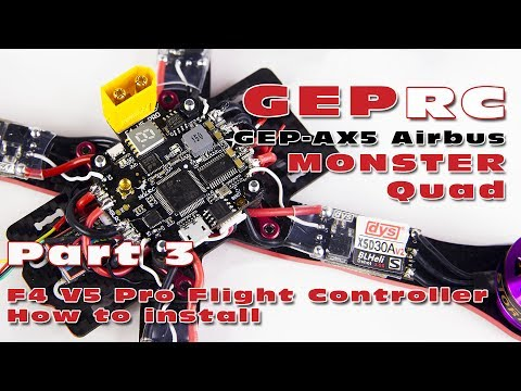 My thoughts on + a how-to-install video about the F4 V5 Pro flight controller / PDB / VTX