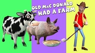Old MacDonald Had A Farm   Nursery Rhyme Song   3D Animation   KidzOne