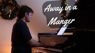 Away In A Manger (Carols Of Christmas) David Hicken Piano Solo