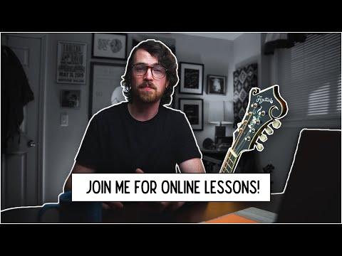 Online Mandolin Lessons /// Intro