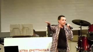 preview picture of video 'Bambolina e barracuda - Ligabue (Marco Rossi) Festa al castello di Piandimeleto (PU)'