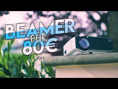 Der beste Low-Budget Beamer (unter 100€)   Apeman Beamer: review. [German/Deutsch]