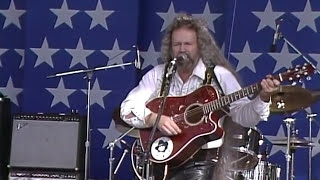 David Allen Coe - You Never Even Called Me By My Name (Live at Farm Aid 1986)