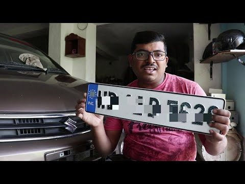 Car Number Plate - Car Registration Plate Latest Price