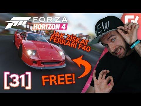 JAK ZÍSKAT FERRARI F40 ZDARMA? | Forza Horizon 4 #31