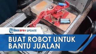 Viral, Siswa SMK Buatkan Ibunya Robot untuk Berjualan Telur Dadar di SD Purworejo