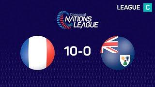 Nations League : Guadeloupe - TCI (10-0)