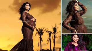 Actress Sneha 2nd Baby Maternity Pics And Baby Girl Name Revealed By Prasanna