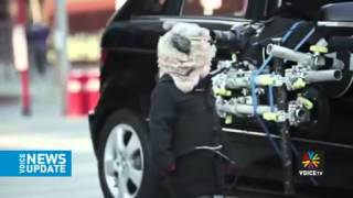 เมอร์เซเดส เบนซ์เปิดตัวรถล่องหน Voice TV