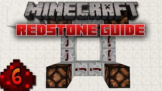 Minecraft - Redstone Guide: 6 - Pulse and Memory Circuits