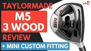 Michael Newton Golf - How Adjustable Is The TaylorMade M5 Titanium 3 Wood Review