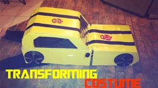 Transforming costume bumblebee